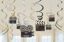 Hollywood Swirls Hanging Decoration
